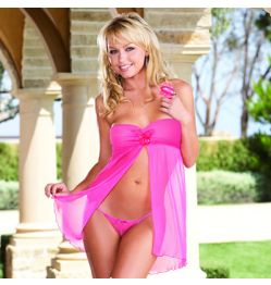 5591 BABY DOLL, THONG & TOY