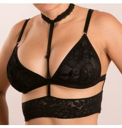BRALETTE ISIS BLACK MEDIUM