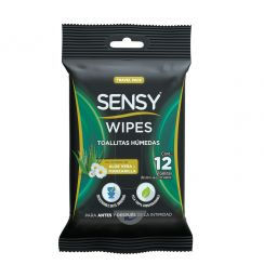 TOALLITAS INTIMAS BIODEGRADABLES SENSY WIPES